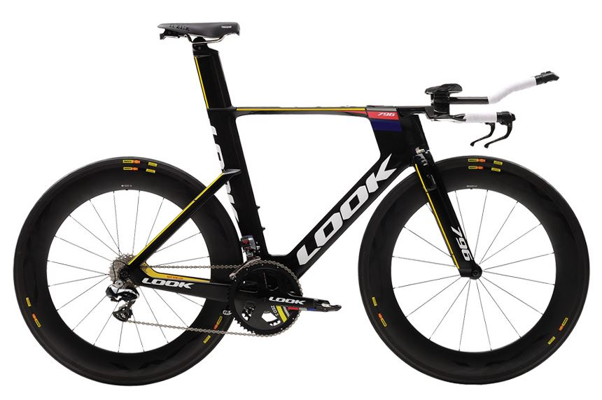 2016 Look 796 Monoblade Dura Ace di2 TT Time Trial Bike small