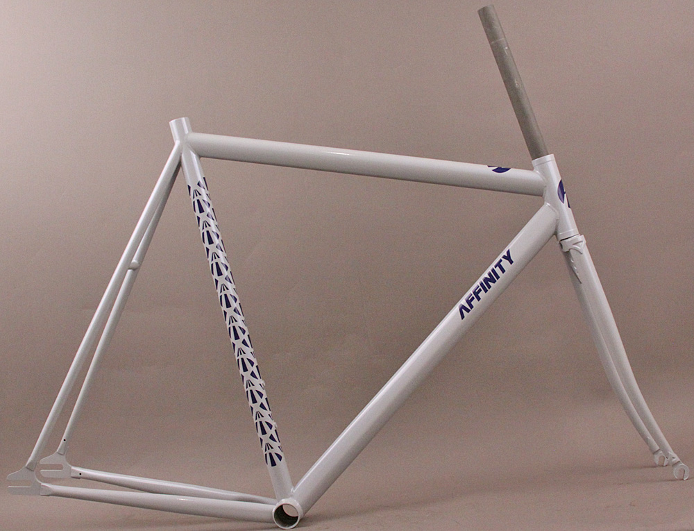 Affinity LoPro Pursuit Track Bicycle Frameset 18% Gray 54cm