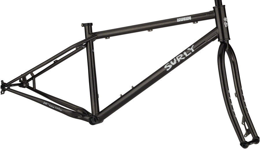 Surly Lowside Trail Frameset Small Rainbow in the Dark