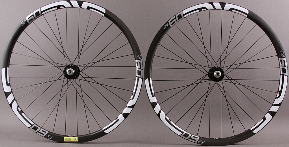 Enve M60/40 29er Chris King Hubs Carbon Clincher Wheelset