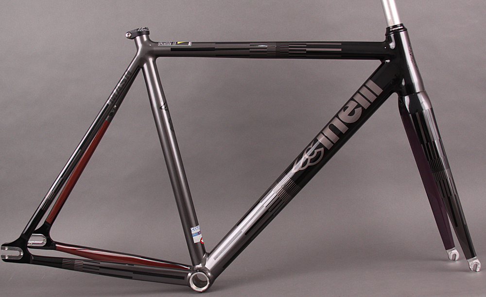 Cinelli MASH Parallax Track Frameset Charcoal 52cm Small