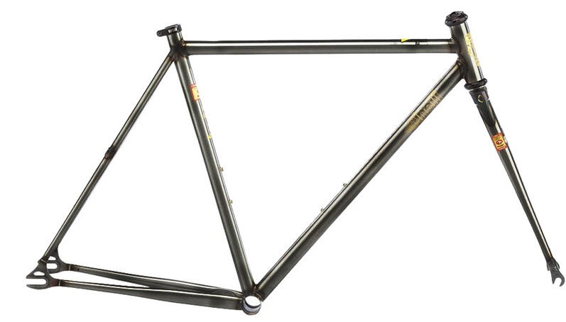 2016/2017 Cinelli MASH Work Smoked Clear 700c Track Frameset