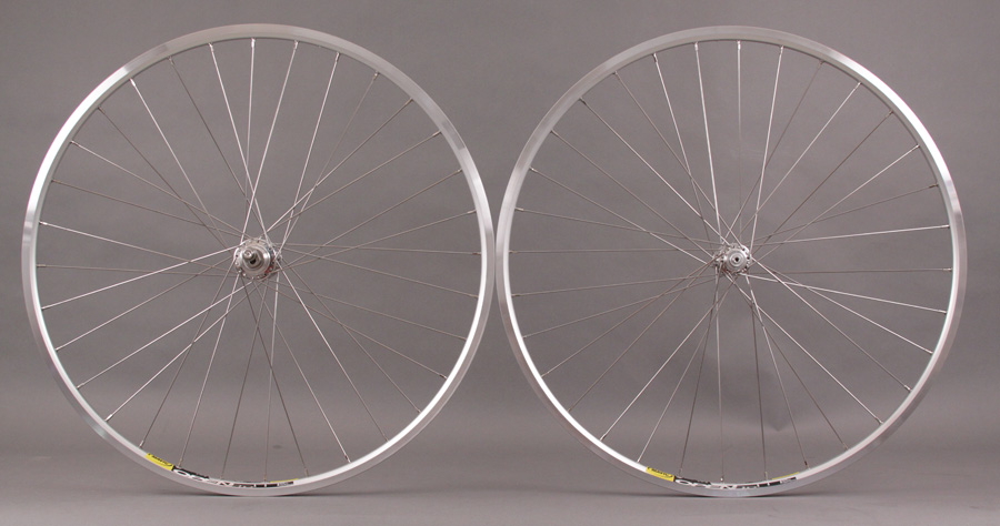 White Industries Eno Eccentric hub -Silver Mavic Open Pro Rims