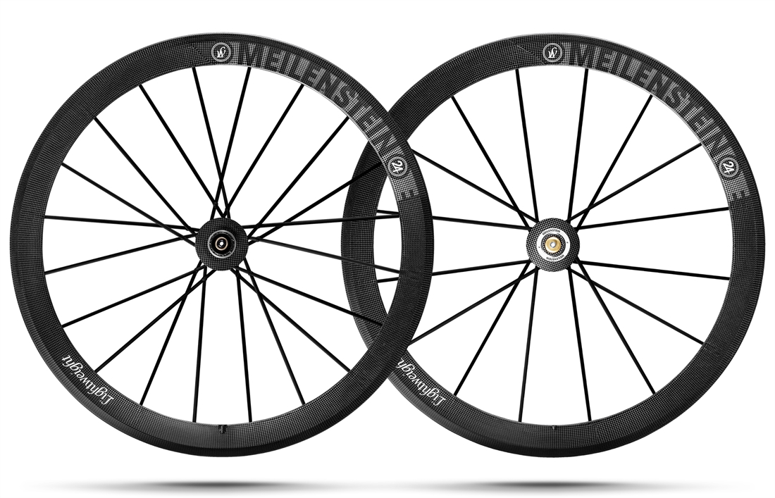 MEILENSTEIN TUBULAR Road Bike Wheelset FW/20 RW/20 CAMPAGNOLO