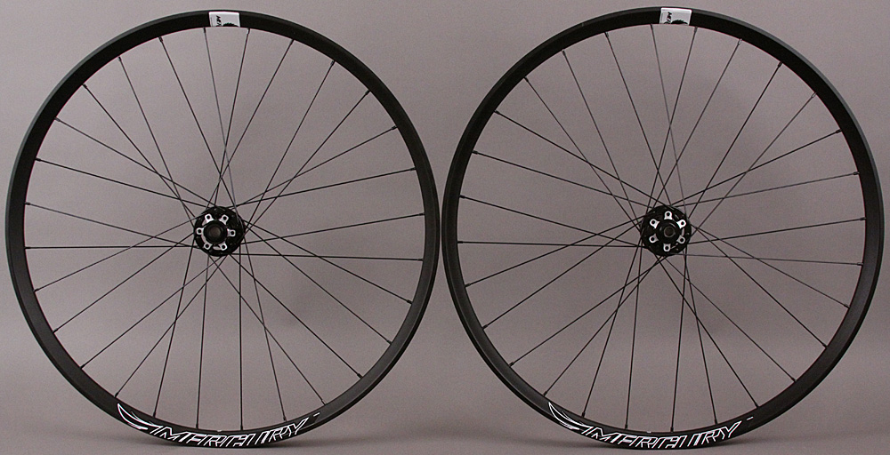 "Hand Built Ryde Edge M30 650b 27.5"" Mountain Bike Wheels SRAM XD"