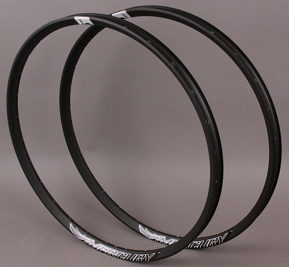 "Mercury Ryde M30 28h 650B 27.5"" Mountain MTB Bike Rims PAIR"