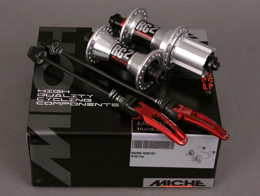 MICHE RACING BOX HUBS 28h CAMPAGNOLO 9 10 11 SPEED