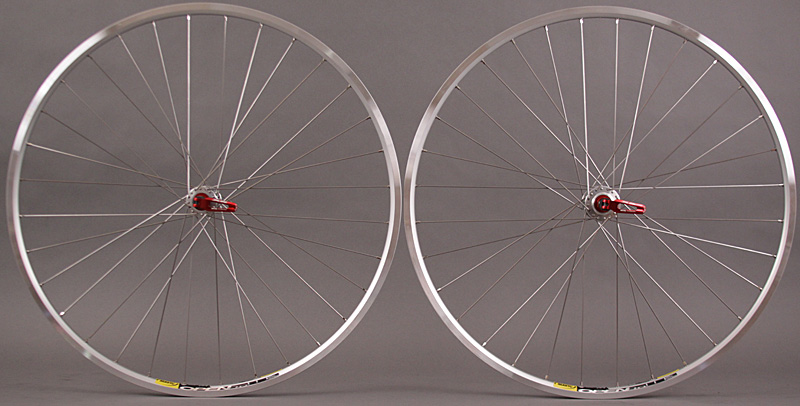 Mavic Open Pro Miche Campagnolo 36H 9 10 11 speed wheelset