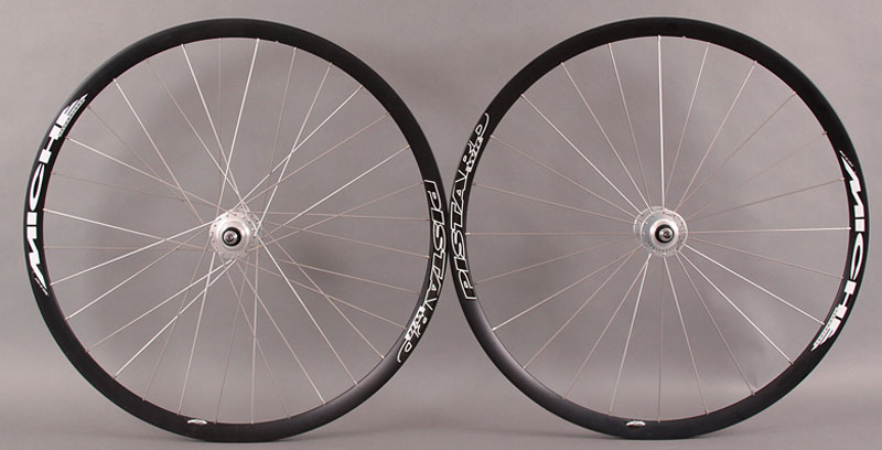 Miche Pistard Track Bike Wheelset TUBULAR fixed/fixed hub