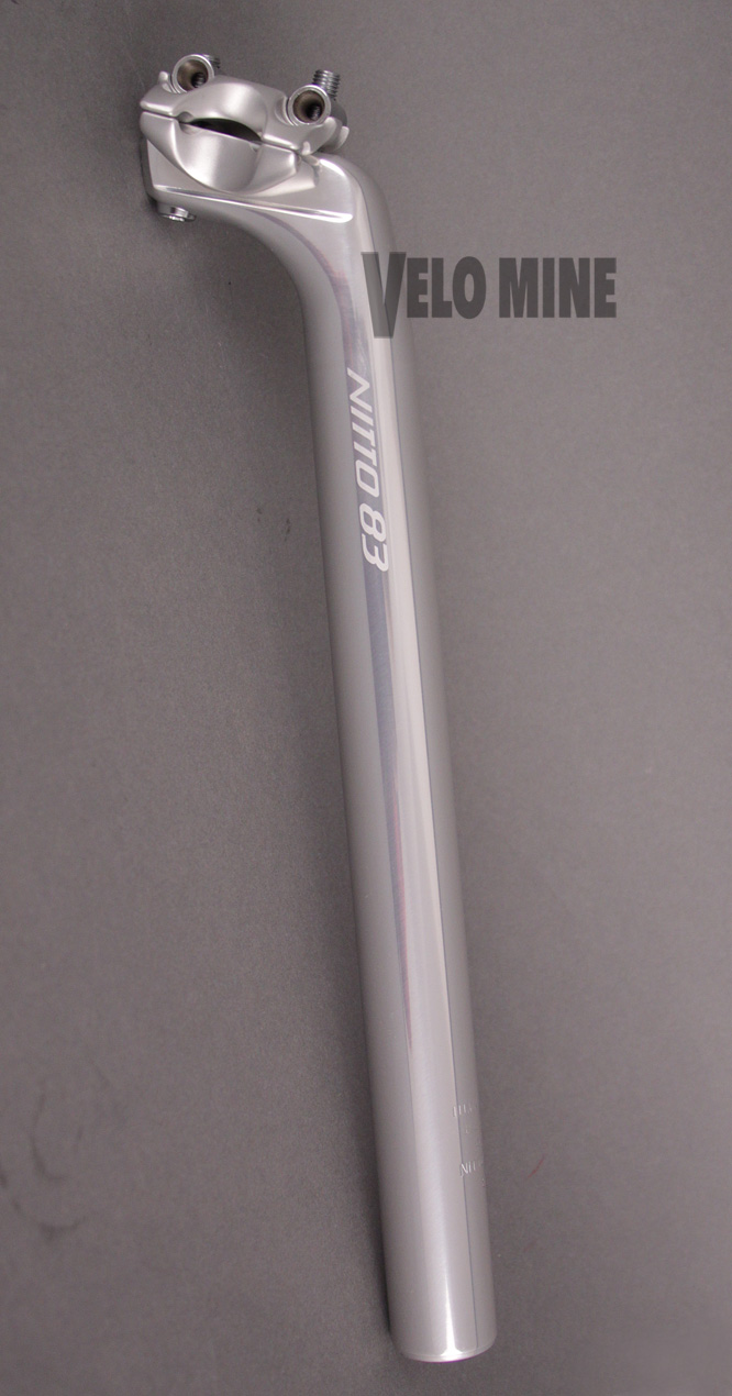 NITTO S-83 Alloy Nuovo Record Style seatpost 27.2 x 300mm 2 Bolt
