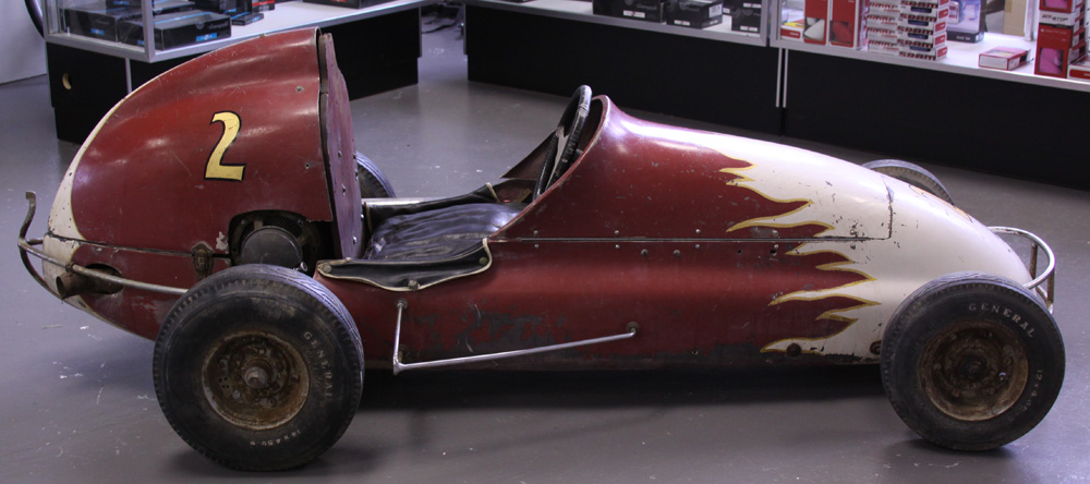 1955 Offyette Quarter Midget Model 400E - not for sale