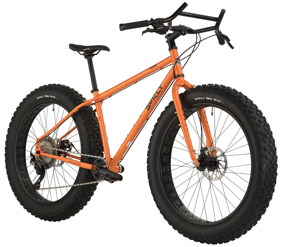 "Surly Pugsley Fat Bike 26"" Candied Yam Orange Small"