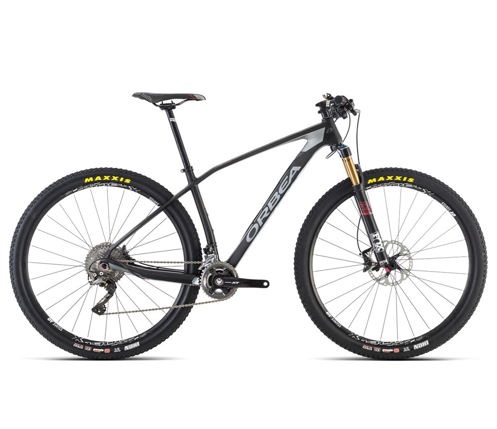 16 Orbea Alma M20 27.5 650b Mountain Bike Matte Black Large Demo