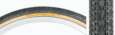 Pair Panaracer Pasela Tour Guard 27 x 1 1/8 wire bead Clinchers