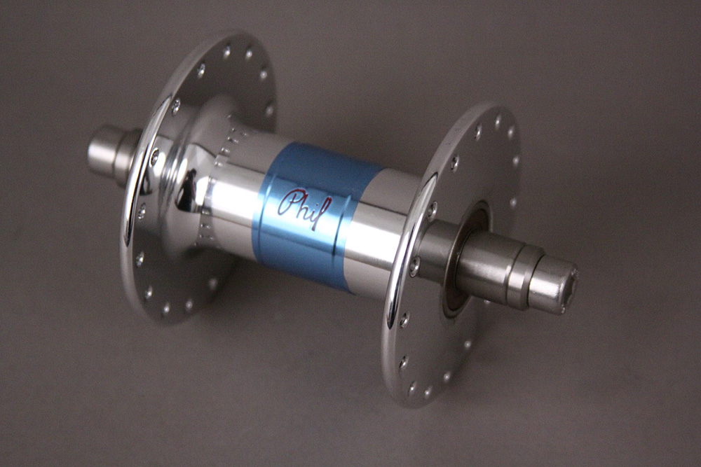 Phil Wood 32 Hole Track Bike Front Hub High Flange Silver