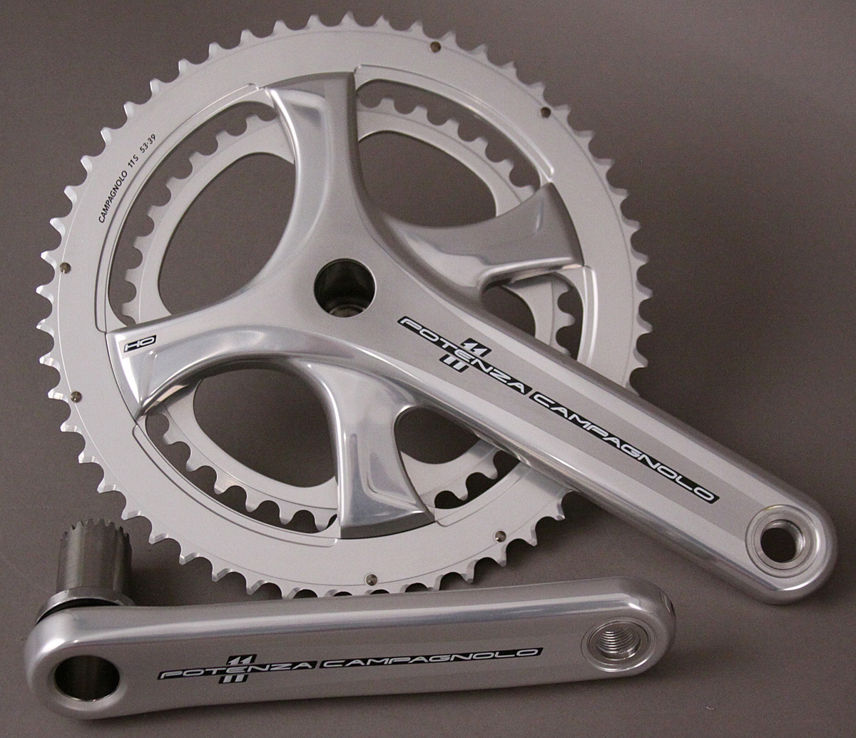 Campagnolo Potenza 11 Speed Road Bike UT Crankset 175 39/53