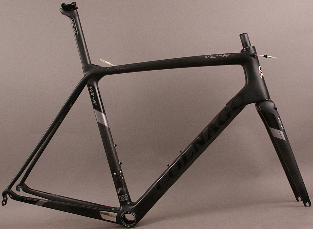 Colnago V2-R Pre-Owned Carbon Road Bike Frameset TNBK 54 Sloping