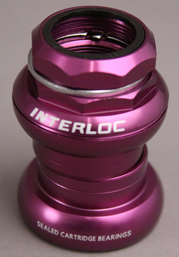IRD Techno Glide 1 Inch Threaded Headset Purple