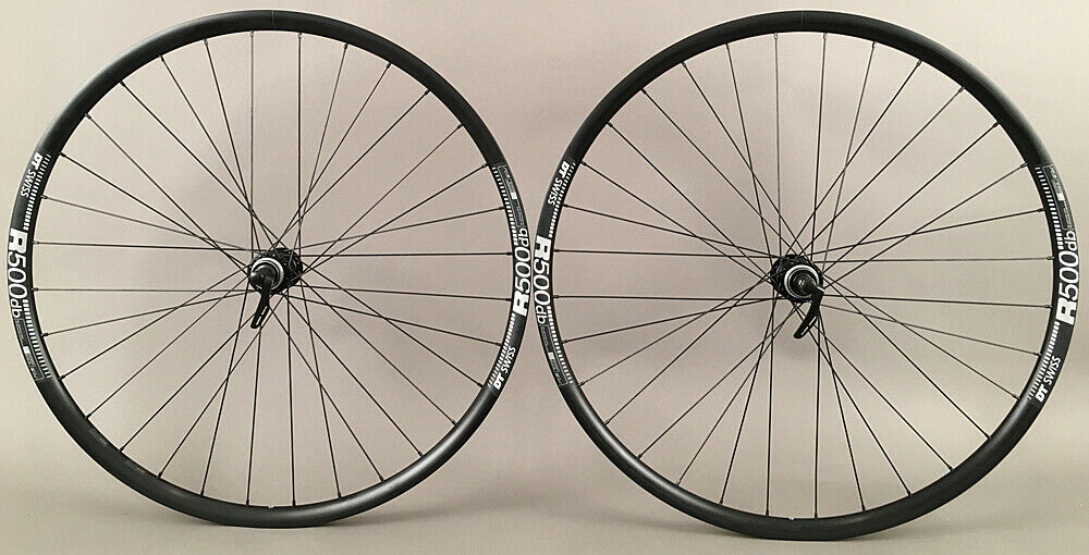 DT Swiss R500 Shimano 105 Hubs Gravel Wheels 650b Quick Release
