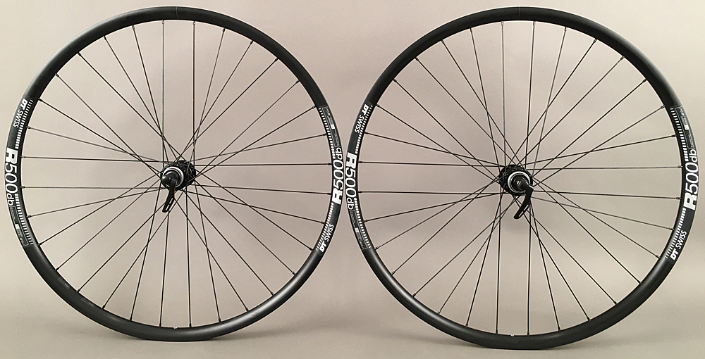 DT Swiss R500 rims Shimano 5800 105 Hubs Road Bike Wheelset