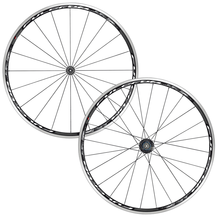 Fulcrum Racing 7 Black White Road Wheelset Shimano SRAM 9 10 11s
