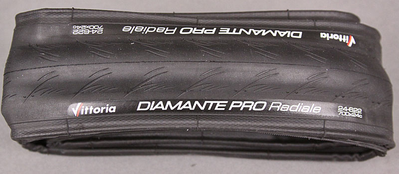 Vittoria Diamante Pro Radiale 700x24c Tire All Black