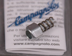 Campagnolo 8 9 speed rear derailleur barrel adjuster & spring