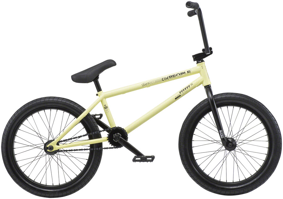 "We The People Reason Steel BMX Bike 20.75"" TT Pastel Yellow"