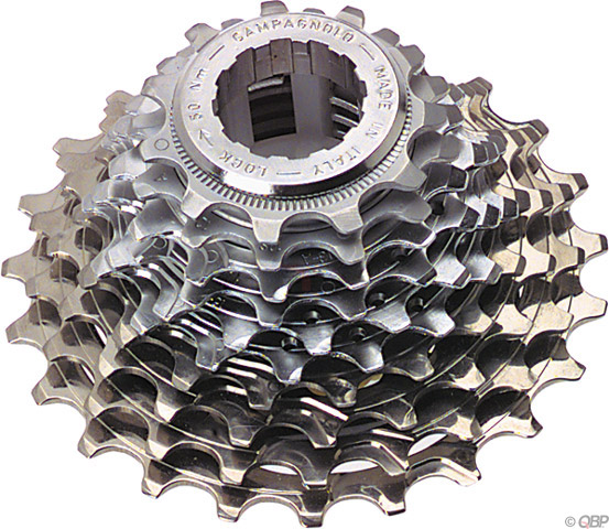 2008 Campagnolo Record 10 Speed cassette 11-21 ti/steel