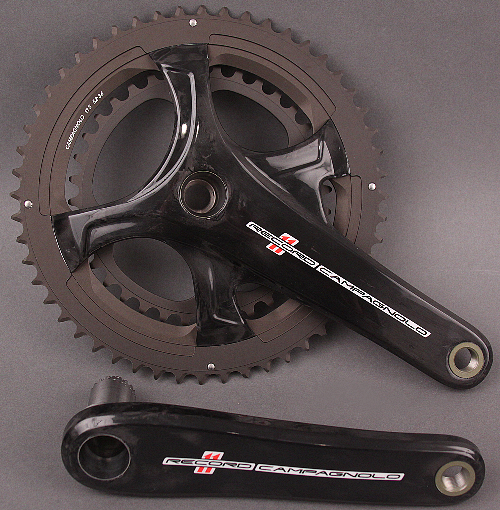 Campagnolo Record 11 Speed Road Bike Crankset 175 36/52