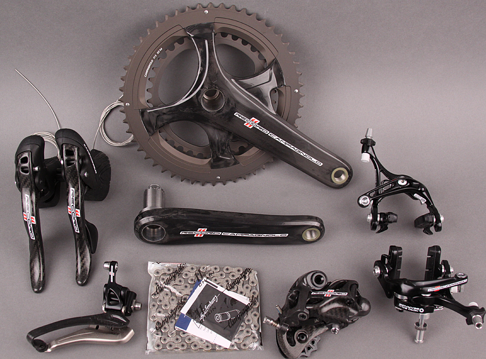 2015/2017 Campagnolo Record 11 Speed 6 pc Group 172.5 Cranks`