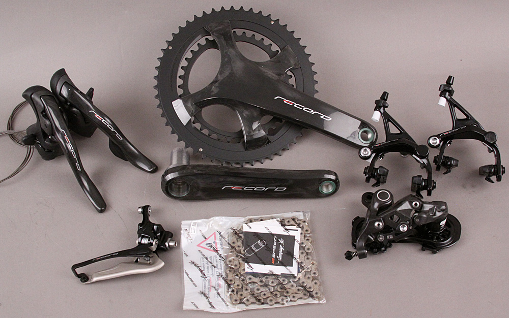 2018/19 Campagnolo Record 12 Speed 6 PC Groupset 172.5 Crankset