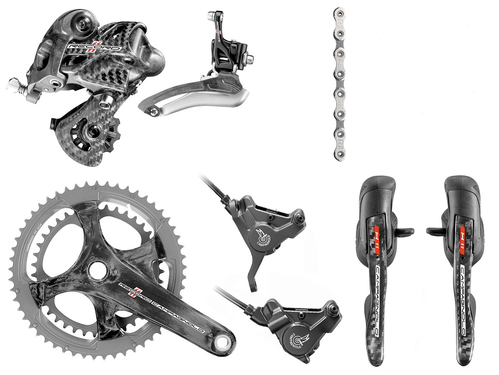 Campagnolo Record H11 Hydraulic Disc Brake Groupset