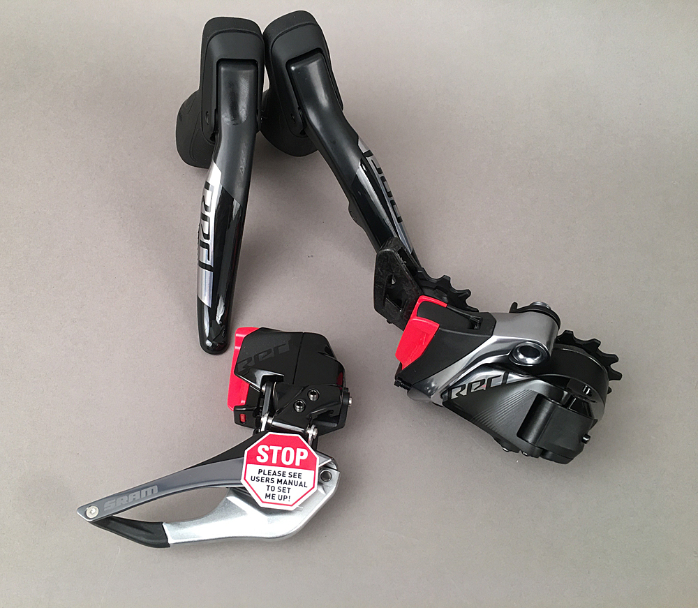 SRAM Red eTap AXS Electronic Road Groupset 2x 12-Speed