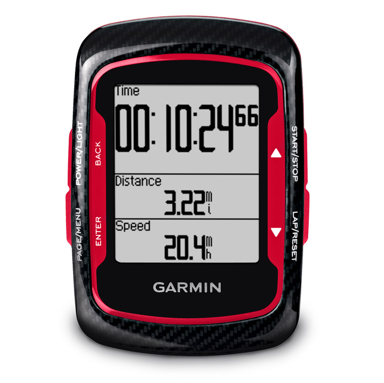 Garmin Edge 500 Black/Red Bundled Version HR Strap Cadence
