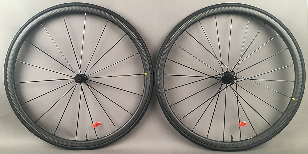 Mavic Ksyrium Pro Carbon SL Carbon Tubeless Road Bike Wheels