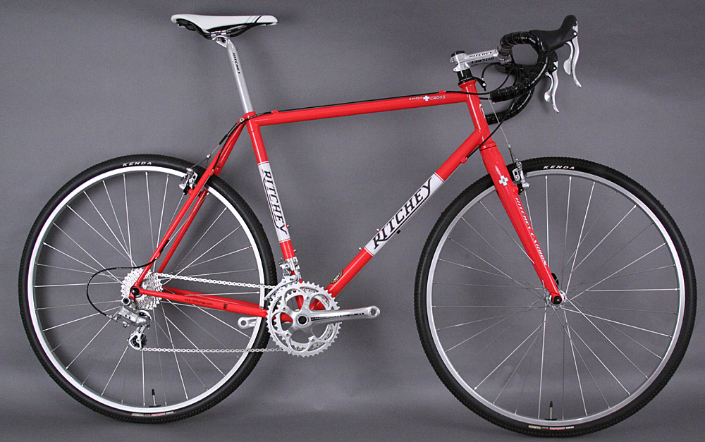 2013 Ritchey Swiss Cross Steel Frame Carbon Fork Complete Bike