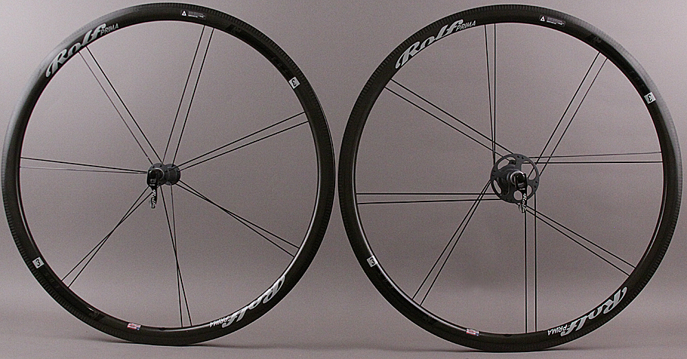 Rolf Prima Hand Built EOS 3 Carbon Wheelset Tubeless Compatible