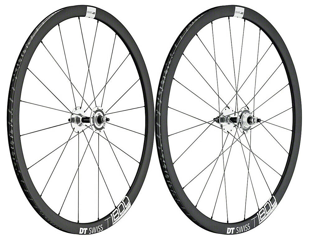 DT Swiss T 1800 Track Bike Single Speed Wheelset DT 370 Hubs