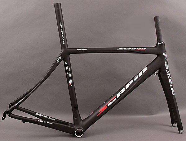 2011 Scapin Fazer Frame and Fork Black