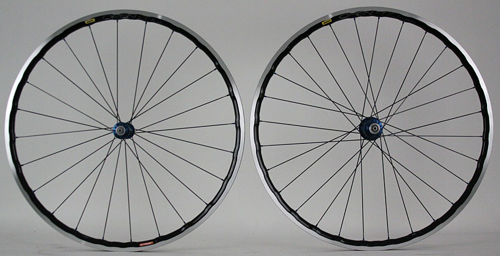 Mavic Open Pro UST Tubeless Rims White Industries Hubs Wheelset