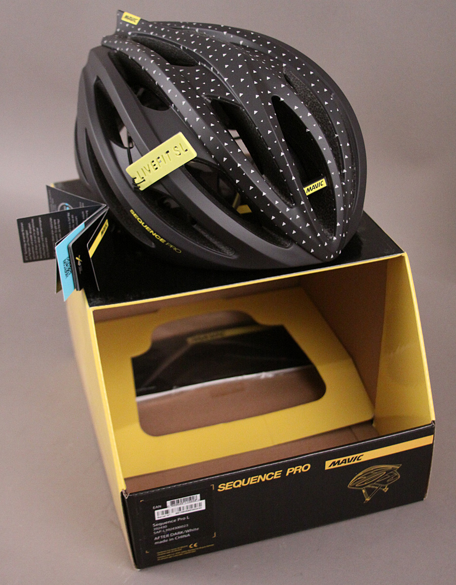Mavic Sequence Road Gravel Racing Bicycle Helmet Large