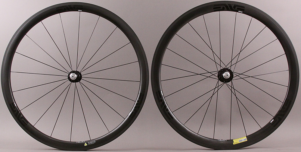 Enve SES 3.4 Carbon Clincher Wheelset Chris King Hubs Ceramic