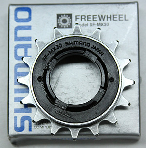 SF-MX30 Shimano 17 tooth single speed freewheel