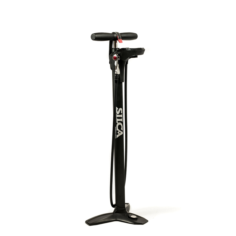 Silca Superpista Digital Gauge Floor Pump BLack