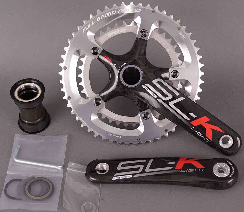 FSA SL-K Light BBRight Carbon Crankset 170mm 39/53 / Cervelo