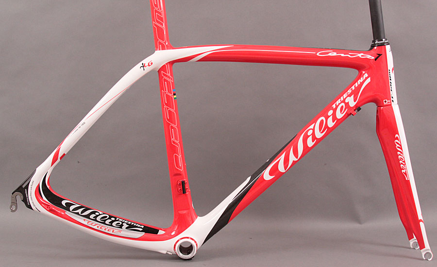 2012 Wilier Cento 1 Superleggera Frame and Fork Red