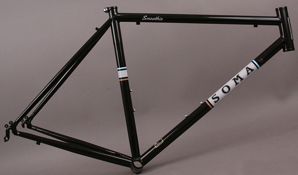 Soma Smoothie Steel Road Sport Touring Bicycle Frame 54cm