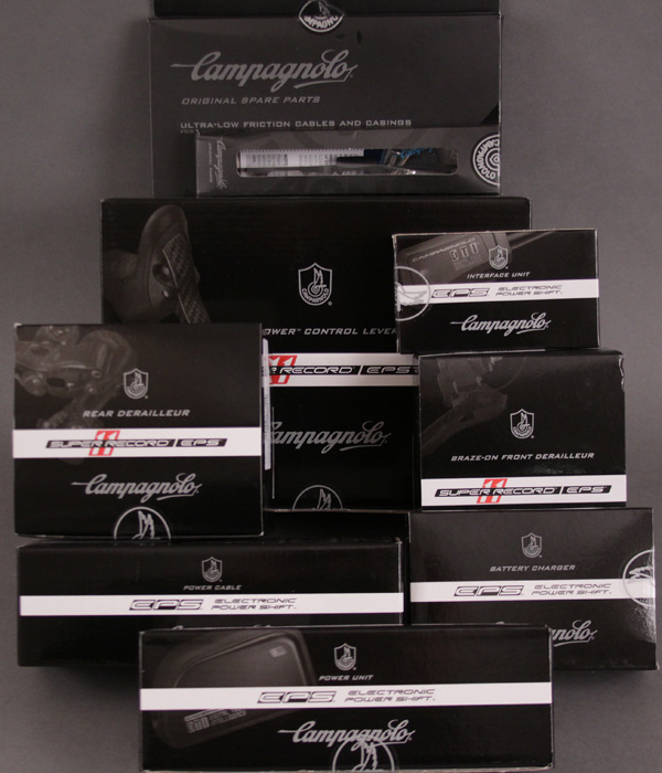 2013 Campagnolo EPS Super Record 8 Piece Upgrade kit