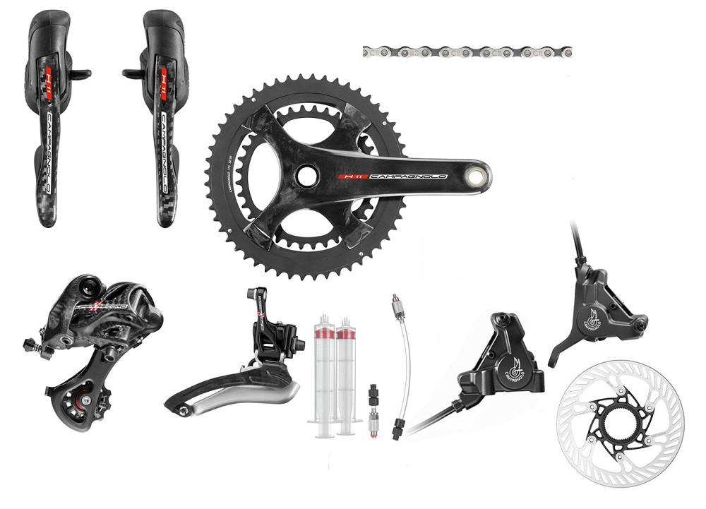 Campagnolo Super Record H11 Hydraulic Disc Brake Groupset